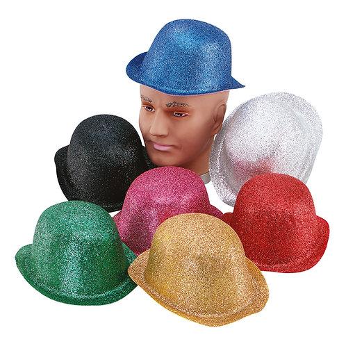 Glitter Bowler Hats