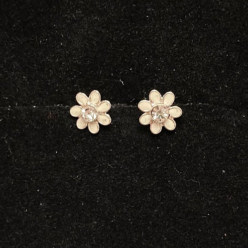 Coloured flower studs