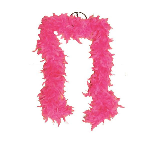 Fuchsia Feather Boa