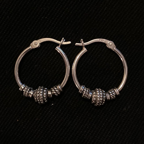 Ethnic bead lock hoops