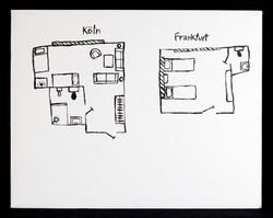 Koln, Frankfurt: Hotel Rooms From Memory