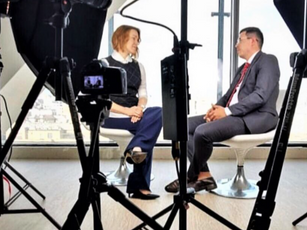 Герман Эннс дал интервью Вице-Президенту Moscow Sotheby's International Realty