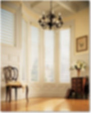 Pirouette Shades,Hunter Douglas,Soft light filtering shades,large window shades,Greenville SC,Charlotte NC,Tryon NC, Asheville NC,Custom Shades,in home window covering design services