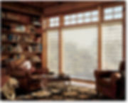 Pirouette Shades,Hunter Douglas,Soft light filtering shades,large window shades,Greenville SC,Charlotte NC,Tryon NC, Asheville NC,Custom Shades, in home window covering design services