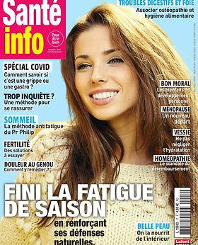 Parution magazine Sante_Info_-_Novembre-