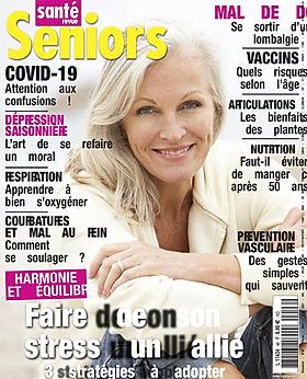 Sante_Parution magazine Revue_Seniors_-_