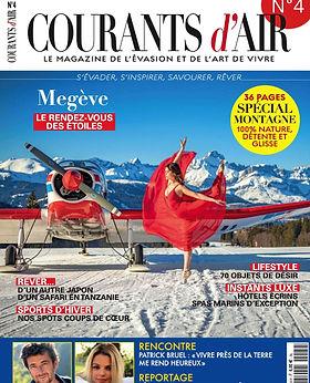 Parution magazine COURANTS D'AIR 4 Dec 2