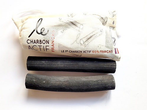 charbon actif made in France lot de 2 pour purifier et filtrer eau courante