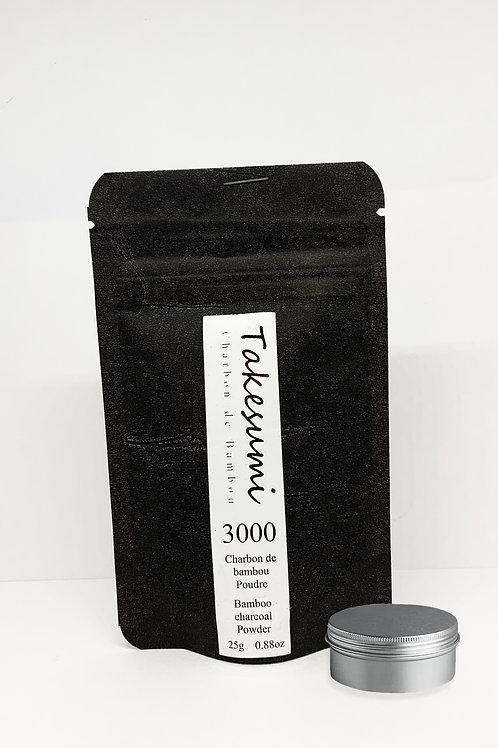 poudre de charbon actif takesumi bio