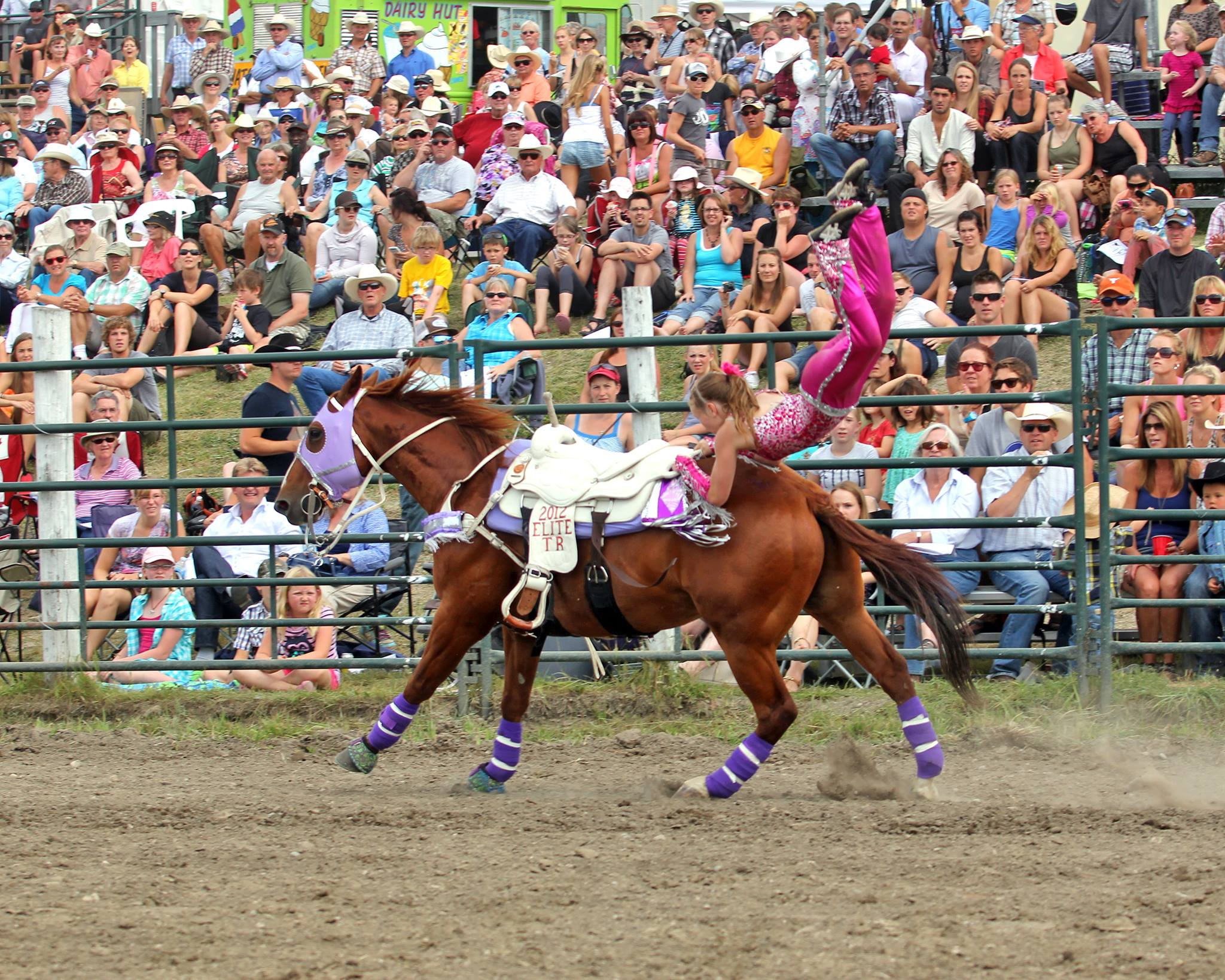 Cooper Vaults at Cochrane Rodeo