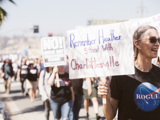 Magnifying Heather Heyer