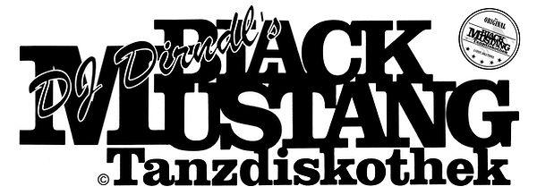DJ Dirndl's Black Mustang