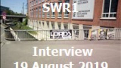 "SWR1 Interview ""THE LORDS"" 19.8.2019"