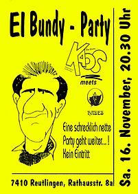 El Bundy Party, Reutlingen, Hades Jugend- und Musiktreff, Dj Dirndl,