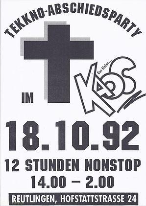 Kaos, Disco, Reutlingen, Ralf Knödler, DJ Dirndl, Pupil17,