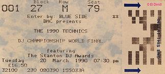 Disco, DMC, DJ David Fascher, Wembley Arena 1990, London, Kaos, Ralf Knödler, DJ Dirndl, Pupil17,