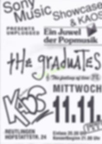 KAOS, disco, DJ Dirndl, The Graduates, 1992, Ralf Knödler, Pupil17, DJ Dirndl,