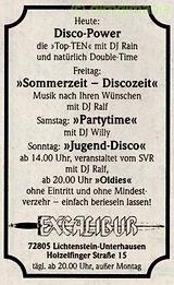 Kaos, disco, reutlingen, DJ Dirndl, Ralf Knödler, pupil 17,