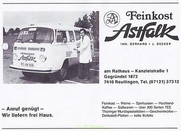 Feinkost Astfalk Reutlingen, #pupil17djkultur,