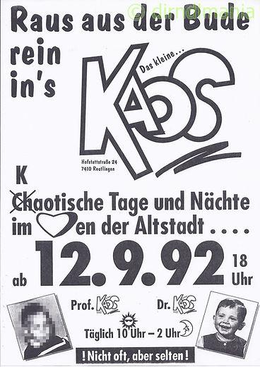 Kaos, Disco, DJ Dirndl, Ralf Knödler, Eröffnung, Video, Pupil17,