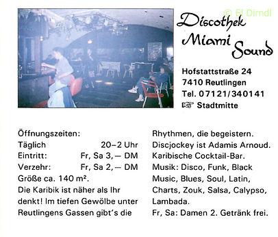 Kaos, Disco, Ralf Knödler, DJ Dirndl, Reutlingen, Sound Club, Hofstattstrasse Reutlingen, Pupil17,