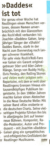 Wochenblatt Reutlingen die totale disconacht DJ Dirndl
