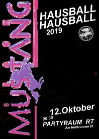 #HAUSBALL19, Black Mustang, Jan Garcia, Reutlingen, Black Mustang,