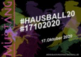 #HAUSBALL20, DJ Dirndl, Reutlingen, Black Mustang,