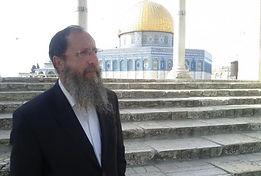 Rabbi Richman on the Temple Mount   Mount.jpg