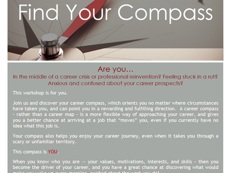 Find Your Compass Workshop