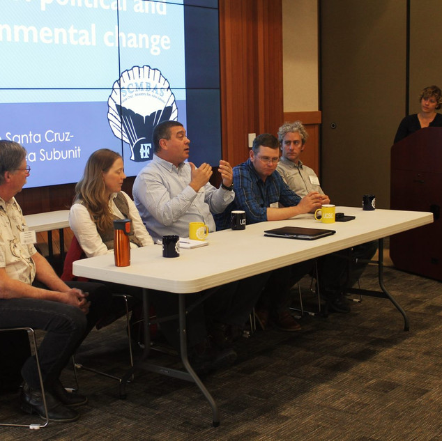 Fisheries Panel at CalNeva conference 2017