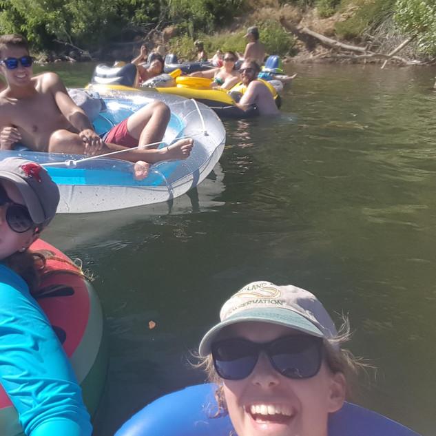 AFS Tri-Subunit River Float