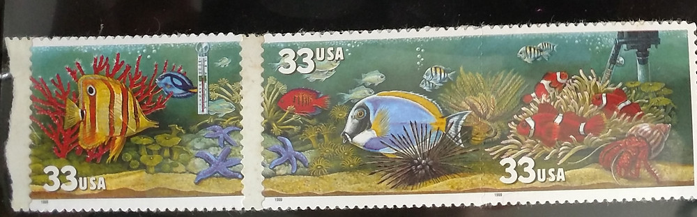 Undersea stamps