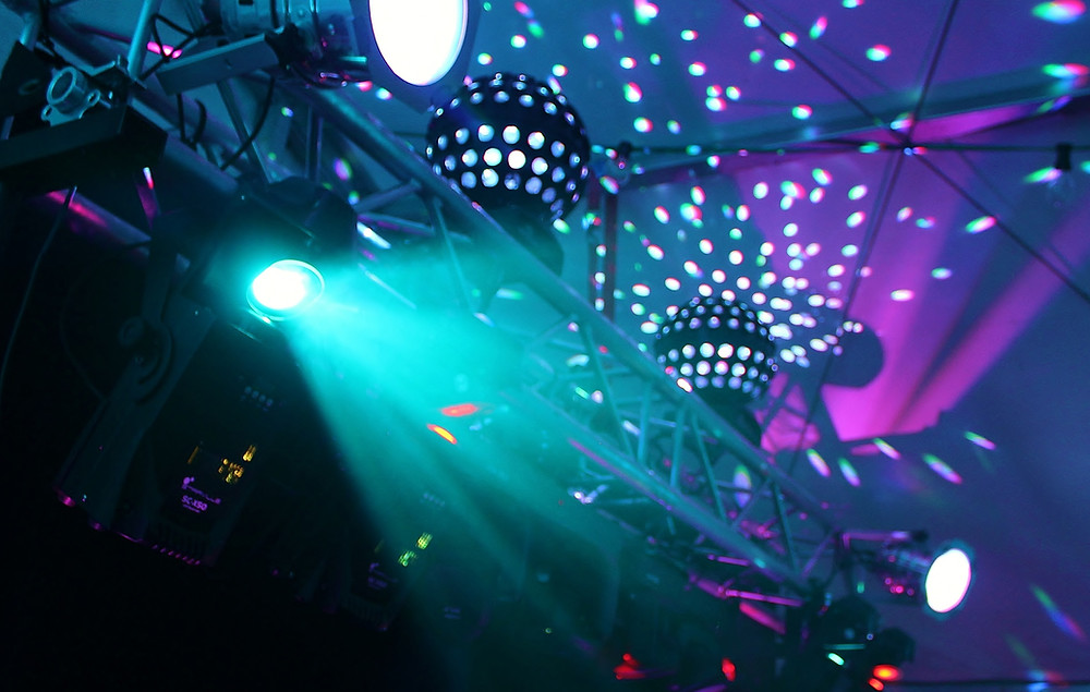 disco lights rental