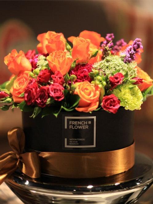 Elegant Black Bouquet
