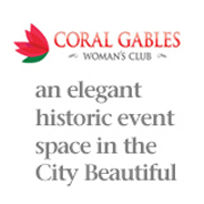 The Coral Gables Woman's Club is an elegant historic event space in the City Beautiful.