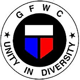 GFWC logo icon showing Unity in Diversity as the tag line