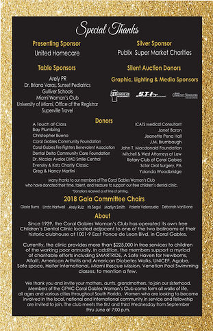 special thanks to all those who worked on 2018 gala