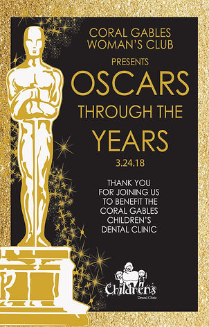 Theme for 2018 gala was the oscars through the years