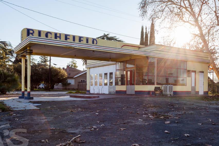 RICHFIELD OLD STATION