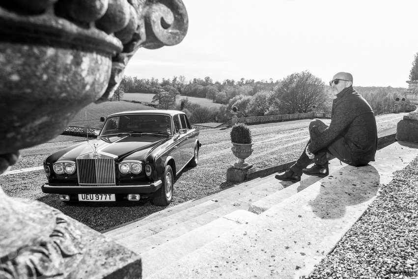 MARTIN AND HIS ROLL ROYCE SS II
