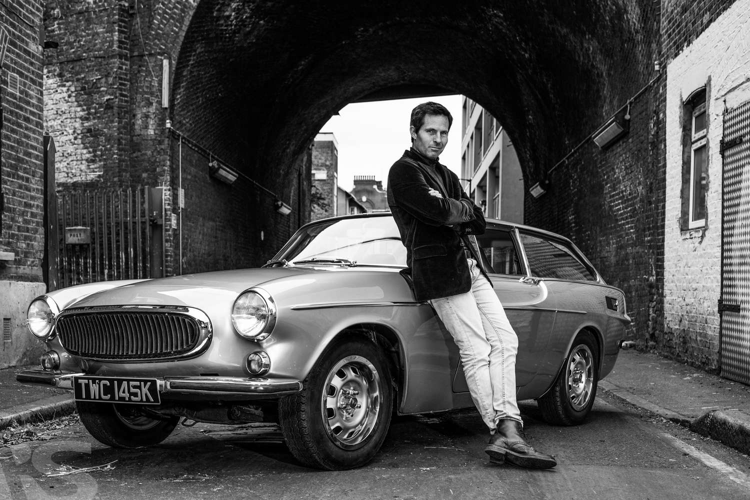 DARREN AND HIS VOLVO 1600