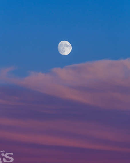 CARPET OF CLOUDS AND THE MOON