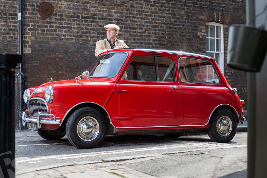 ROBERT AND HIS MINI FROM 1961