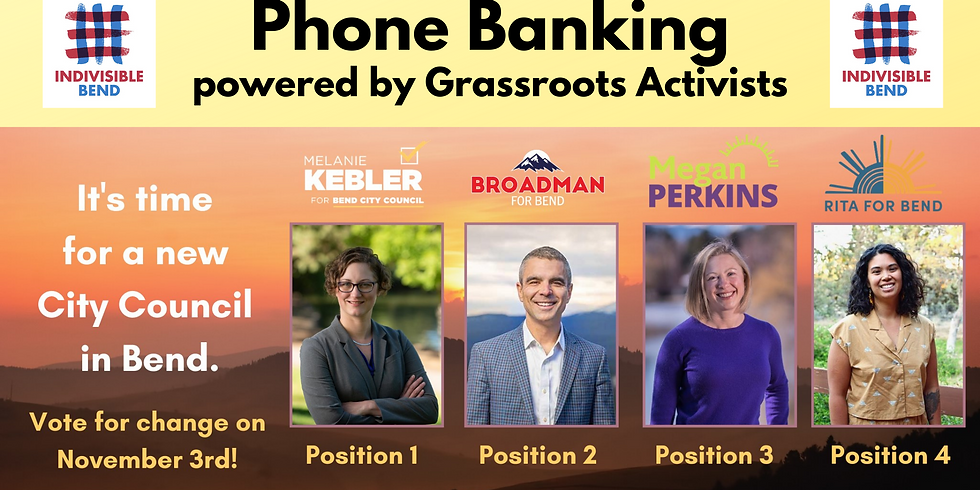 City Council Candidates Phone Banking