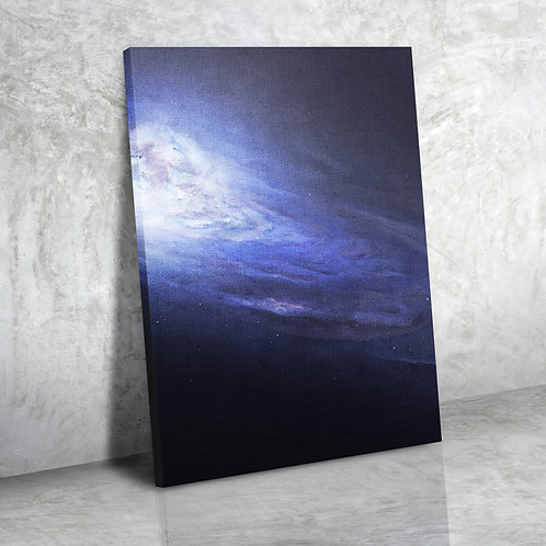 Космический синий