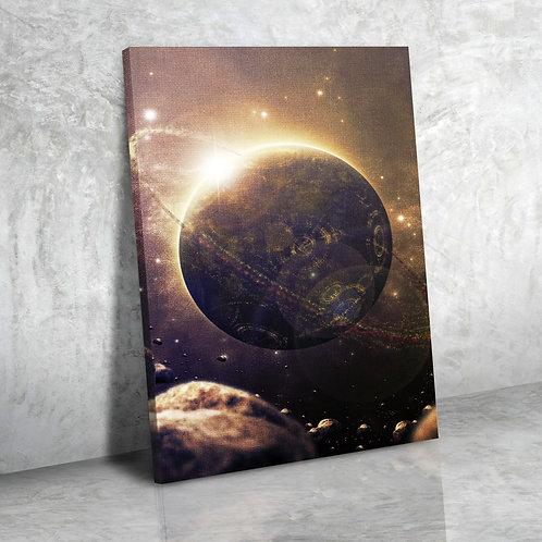 Планета со спутником