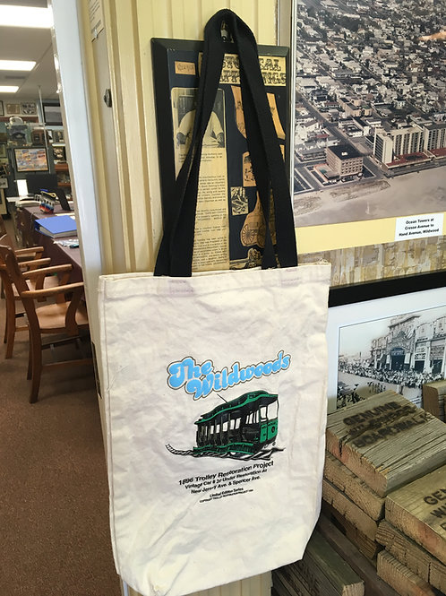 Wildwood Trolley Restoration Project tote bag