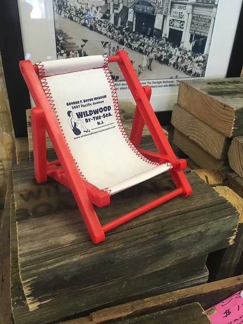 Wildwood NJ souvenir mini beach chair
