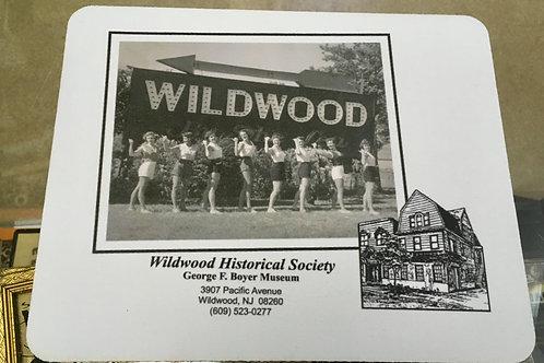 Wildwood Sign Mousepad